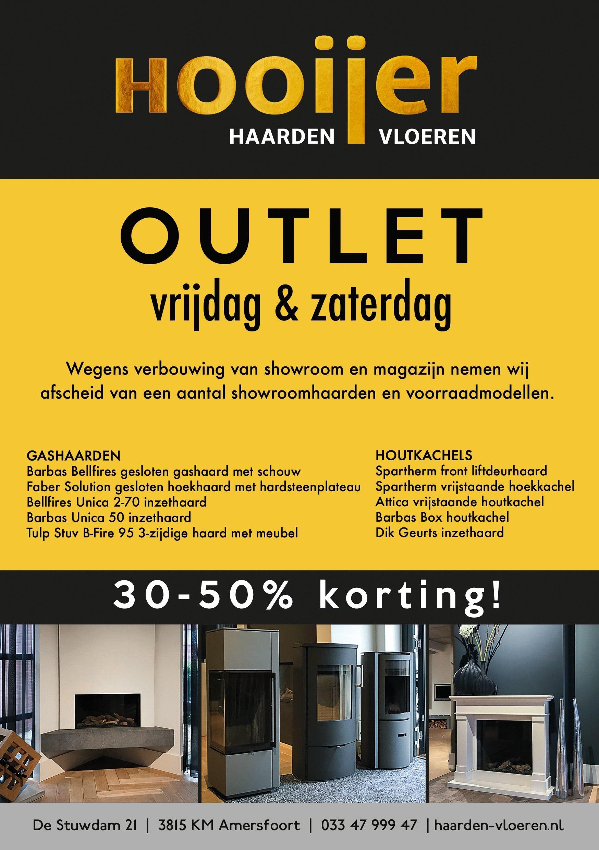 ea9af3c7617 30 tot 50% korting tijdens onze outlet! | Hooijer Haarden en Vloeren