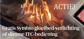 Actie: gratis Symbio gloeibedverlichting of slimme ITC besturing
