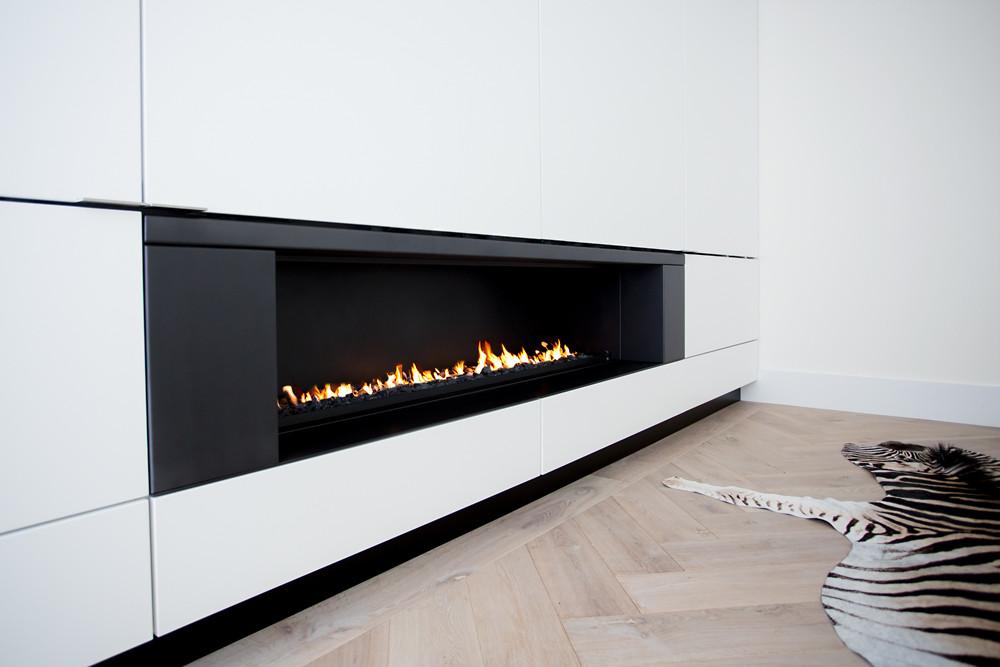 Super Boley gashaard met maatwerk TV-meubel   Hooijer Haarden en Vloeren ZA-14