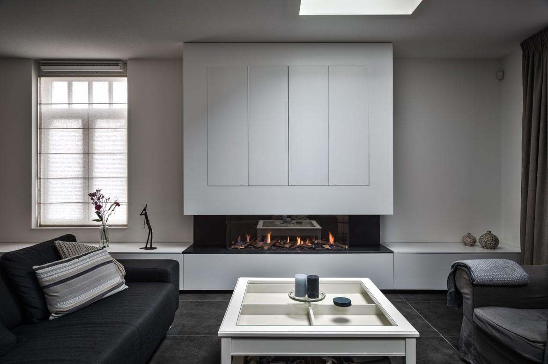 Exclusieve gashaard met maatwerk meubel