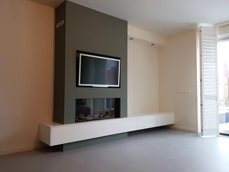 Faber Relaxed L gashaard met maatwerk meubel