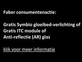 Faber consumentenactie: gratis symbio gloeibed-verlichting of ICT-module of AR glas