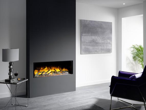Flamerite Fires GLAZER 1000 I elektrische haard