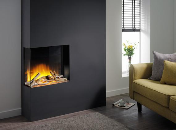 Flamerite Fires GLAZER 600 II elektrische haard