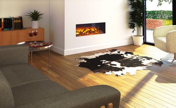 Flamerite Fires GLAZER 900 I elektrische haard