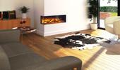 Flamerite Fires GLAZER 900 II elektrische haard