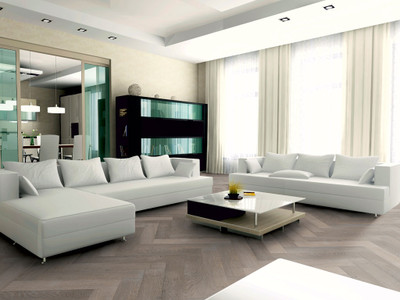 AvanceFloors Grigio Leisteen Grijs Naturel Visgraat