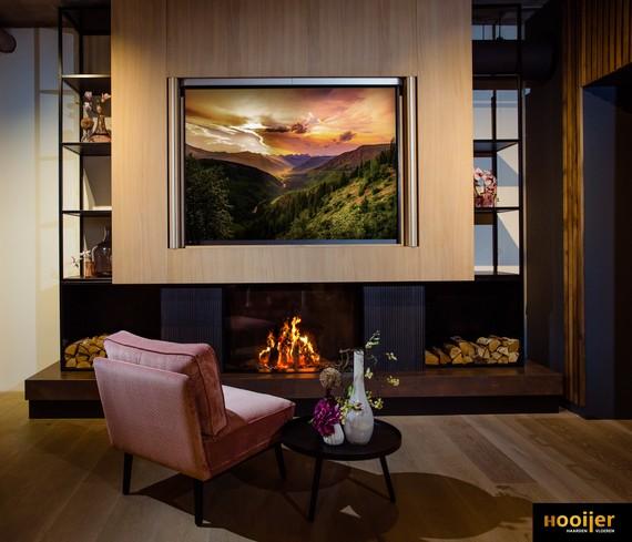 M-design LUNA DIAMOND 1150V lifdeur houthaard showroom Amersfoort