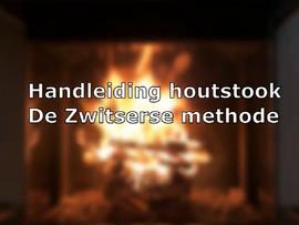 Houtstook instructie Hooijer