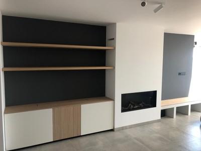 Ingebouwde gashaard met exclusief meubel