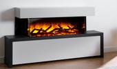 Flamerite Fires STRATO 900 - 1500/1200 elektrsiche haard