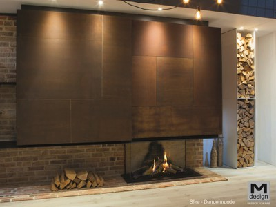 M-design True Vision Open Fire Look 650DC
