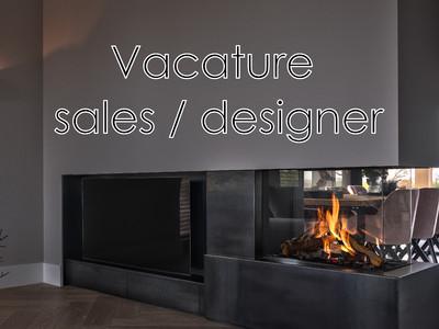 Vacature sales / designer
